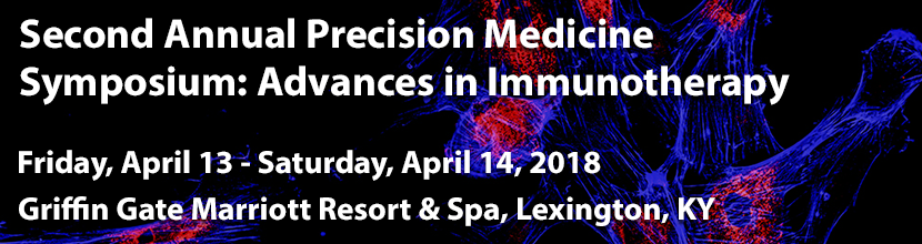 Second Annual Precision Medicine Symposium: Advances in Immunotherapy