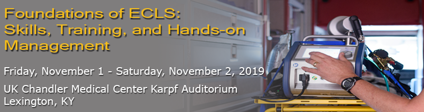 Foundations of ECLS: Skills, Training, and Hands-on Management