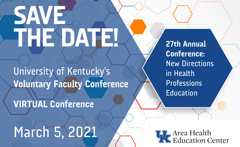 27th Annual Voluntary Faculty Conference: New Directions in Health Professions Education